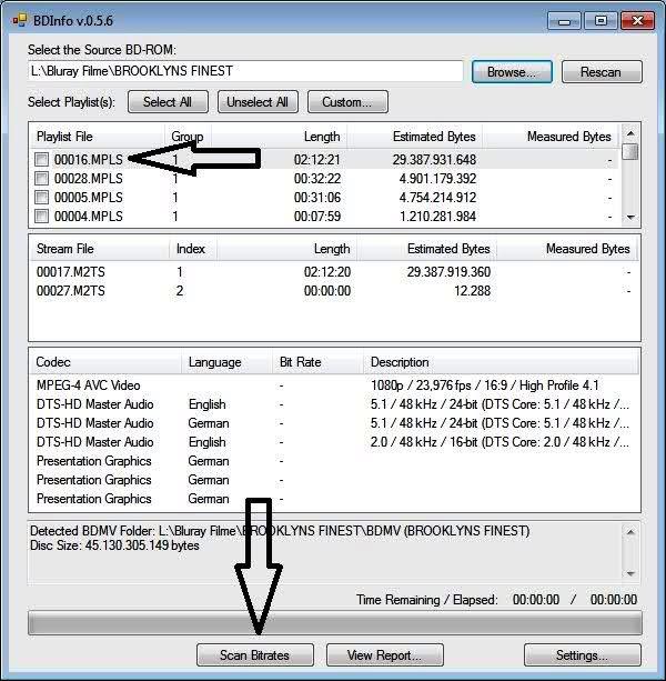 DVDFab Forum - BDInfo und tsMuxeR :D