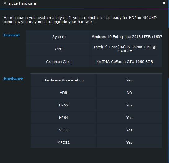 DVDFab Forum - Will not pass thru HDR, player software only