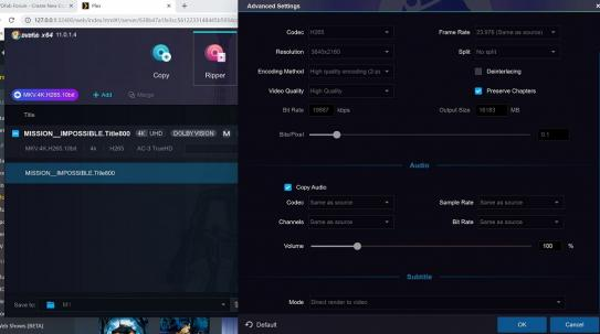 DVDFab Forum - Unable to get ripped Dolby Vision titles to